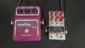 Chase Bliss Audio Tonal Recall RKM vs. MXR Carbon Copy - Analog Delay