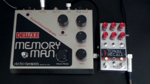 Chase Bliss Tonal Recall RKM vs. EHX Deluxe Memory Man