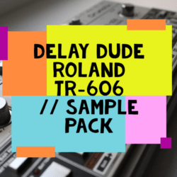 Roland TR 606 Sample Pack